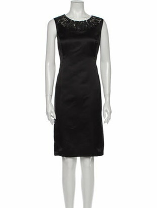 Jason Wu 2012 Knee-Length Dress Black