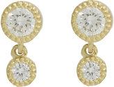 Tate Women's Diamond Double-Drop Earrings-YELLOW, NO COLOR