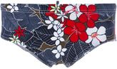 DSQUARED2 floral print swimming trunks
