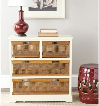 Safavieh Jackson Country Rustic Storage Unit with 4 Drawers