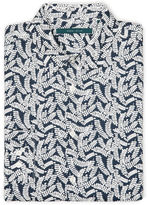 Perry Ellis Big and Tall Exclusive Leaf Print Shirt