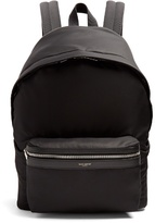 Saint Laurent City Nylon Backpack