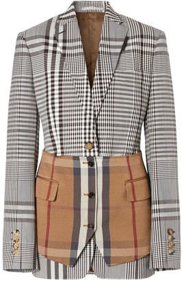 Burberry Basque detail tailored jacket