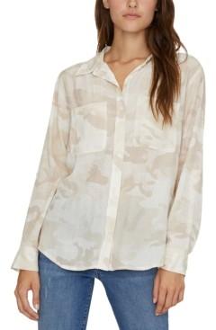 Sanctuary Waverly Camo-Print Boyfriend Shirt