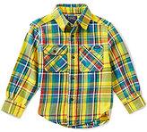 Ralph Lauren Little Boys 2T-7 Matlock Madras-Plaid Twill Shirt
