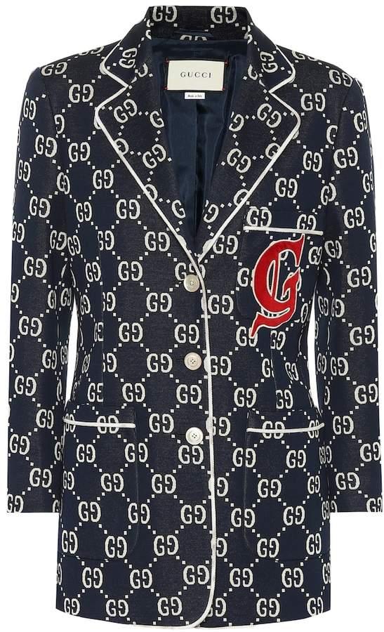 147716d07 Gucci Blue Women's Jackets - ShopStyle