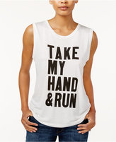 Rachel Roy Take My Hand Graphic Tank Top, Only at Macy's