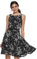 Elle Women's ElleTM Floral Fit & Flare Dress