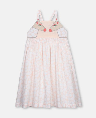 Stella McCartney giraffe spots cotton dress