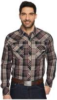 Wrangler Rock 47 Long Sleeve Western Shirt Men's Clothing