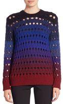 Kenzo Tye and Dye Open-Knit Sweater