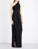 Givenchy Ruched jersey gown