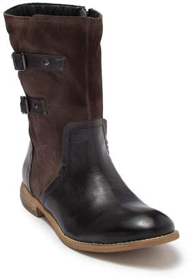 ROAN Suze Leather Buckle Strap Boot