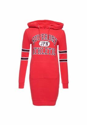 Superdry Women's Hooded Varsity Sweat Dress