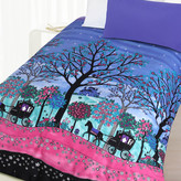 Enchanted Forest Glow In The Dark Quilt Cover Set
