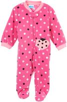 Bon Bebe Pink Polka Dot Lady Bug Footie