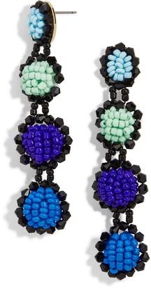 BaubleBar Rosalind Colorful Beaded Drop Earrings