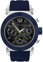 Rocawear Mens Blue Strap Watch-Rm0213s1-104
