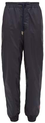 Thom Browne Tricolour-stripe Track Pants - Mens - Navy