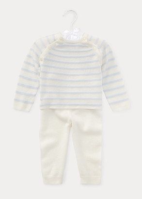 Ralph Lauren Cashmere Sweater & Pant Set