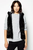Jack Wills Catford Faux Fur Vest