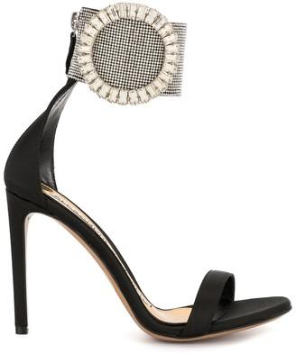 Alexandre Vauthier Joan 100mm embellished sandals