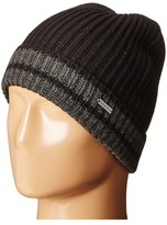 MICHAEL Michael Kors Striped Full Cardigan Cuff Hat