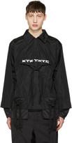 Kokon To Zai Black Gathered Pocket Shirt