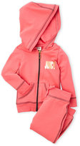 Juicy Couture Girls 4-6x) Two-Piece Zip-Up Hoodie & Jogger Pants Set