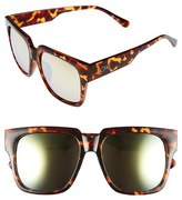 Quay 'On the Prowl' 55mm Oversize Square Sunglasses