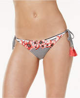 Vince Camuto Blossom Side-Tie Cheeky Bikini Bottoms