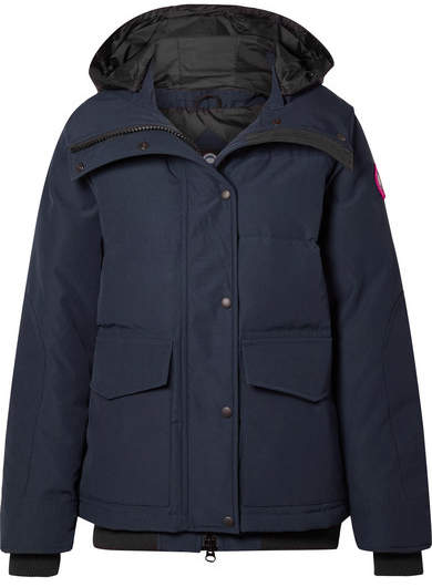Canada Goose Deep Cove Quilted Shell Down Jacket - Blue