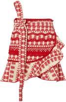 Alexis Marti Ruffle Mini Skirt