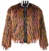 Nicopanda - faux fur bomber - unisex - Acrylic/Nylon/Polyester/Polyurethane - M