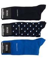 Boss Underwear Three Pack Of Socks Gift Set