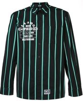 Kokon To Zai striped button-down shirt - men - Cotton - M