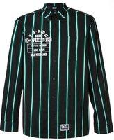 Kokon To Zai striped button-down shirt
