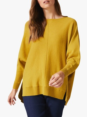 Phase Eight Eve Exposed Seam Boxy Top, Chartreuse
