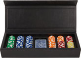 B.Home Interiors Leather Poker Set