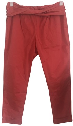 Hatch Red Trousers for Women