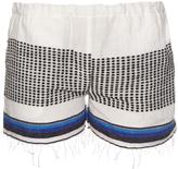 Lemlem Lulu multi-striped shorts