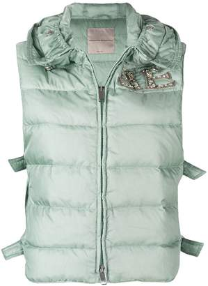 Ermanno Scervino sleeveless puffer jacket