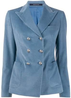 Tagliatore Janise corduroy double-breasted blazer