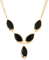 Lana 14k Elite Jet Marquise Onyx Necklace