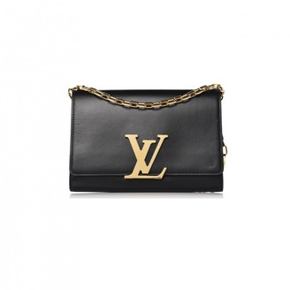 Louis Vuitton Louise Black Leather Handbags