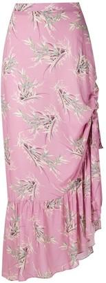 Clube Bossa Printed Midi Skirt