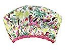 Betty Dain Fashionista Collection Mold Resistant Lined Shower Cap, Tropical, 2.8 Ounce