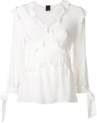 Pinko ruffled blouse