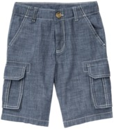 Crazy 8 Chambray Cargo Shorts