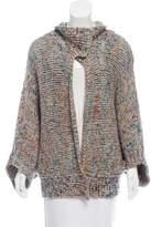 Dries Van Noten Short Sleeve Wool Sweater